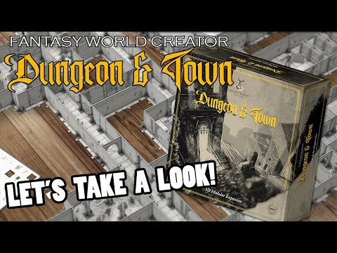 Dungeon & Town For Fantasy World Creator - Let's Take A Look!