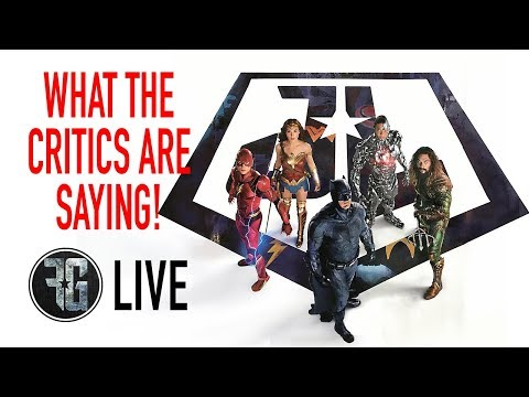 JUSTICE LEAGUE First Reactions From Critics (LIVE)