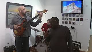 Brian Kastan-Fretless Bass, Miles Griffith-Vocals, Dave Berger-Drums