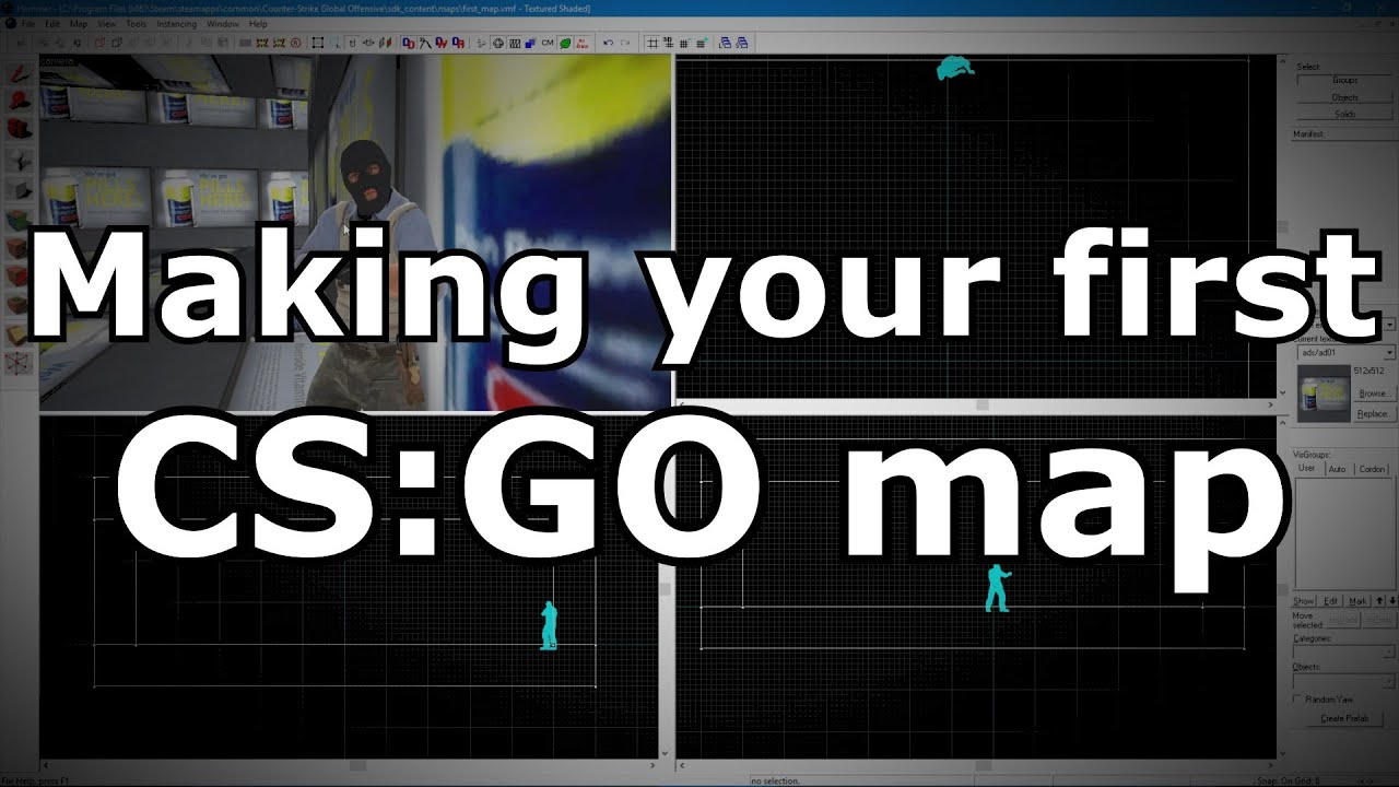 How To Make A Csgo Map CS:GO Map Making Tutorial   YouTube