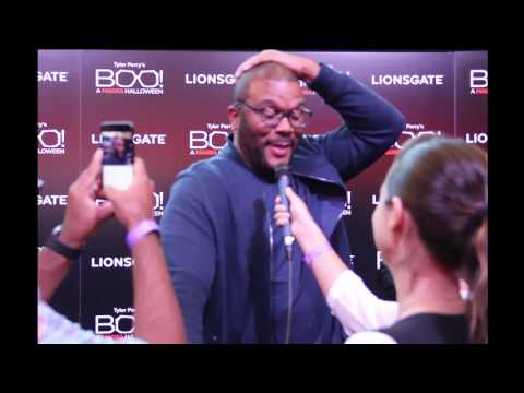 The Local Lense Interviews Tyler Perry at Boo! A Madea Halloween Atlanta Screening