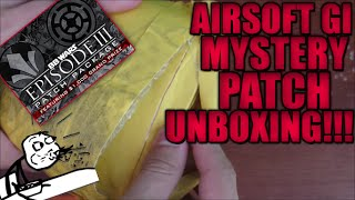 5 Airsoft GI Mystery Box Unboxings! | BB Wars Episode 3: Counterattack Patch Package