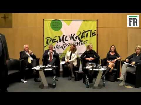 FR-Stadtgespräch zur OB-Wahl in Frankfurt 2018