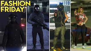 GTA Online 15+ AWESOME OUTFITS! (The Midnight Clubber, Cali Girl, Urban Sniper & MORE)
