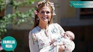 Las fotos oficiales del bautizo de la princesa Adrienne de Suecia