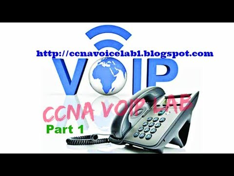 Configuring Router, Switch, VOIP phones in Cisco Lab