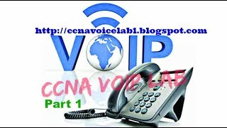 configuring router switch voip phones in cisco lab ccna voip lab part 1