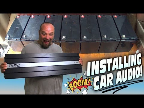 wiring-big-car-audio-system-w/-multiple-batteries-&-installing-sundown-subwoofer-amplifier-|-how-to