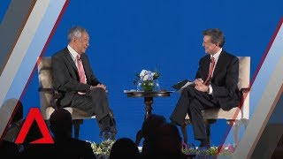 PM Lee speaks at the inaugural Bloomberg New Economy Forum