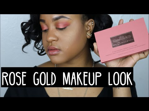 Rose Gold Makeup Look | Soho Vibes