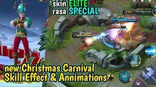 Mobile Legends - new Skill Effect Gord Chrismash Carnival  gameplay