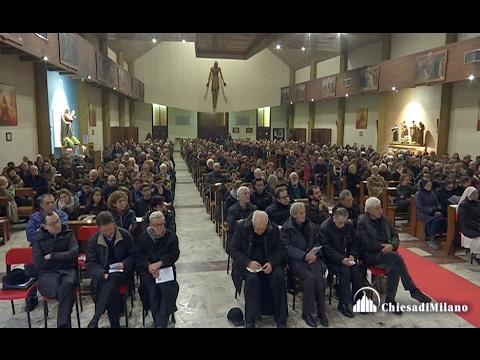 1 febbraio 2017  Visita pastorale al Decanato di Cinisello Balsamo - Video integrale