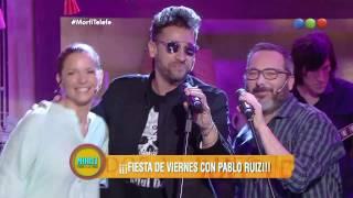 ¡Gran dueto!: Pablito Ruíz cantó a duo con Gerardo Rozin - Morfi