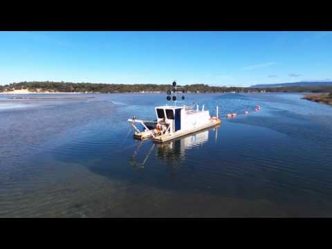 Dredging at Lake Conjola