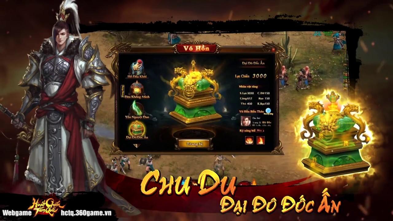 [ 360Game.vn ] Huyết Chiến Tam Quốc - Game Combo Đã Tay Bất Ngờ Ra Mắt