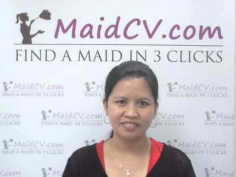 MaidCV.com - Interview of Rowena Barranco - Filipino Maid/Nanny