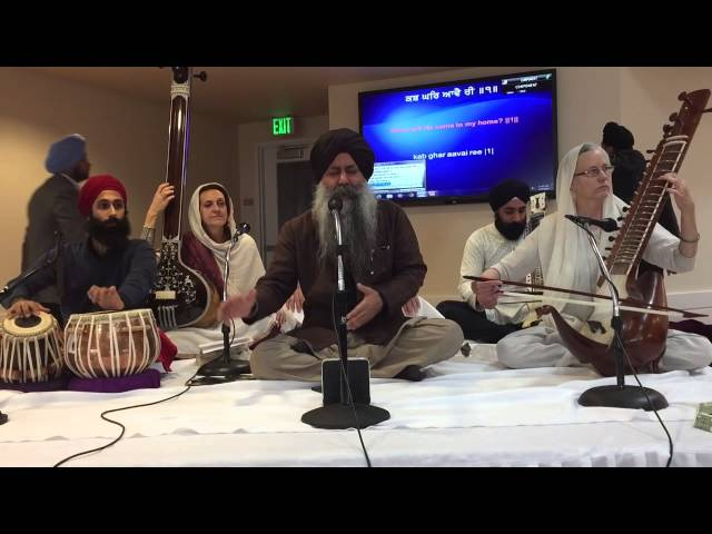 Gurbani Kirtan by Bhai Baldeep Singh Ji at Sikh Institute Fresno