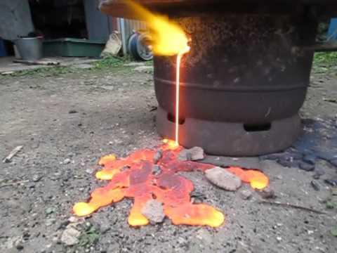 003 たたら製鉄研修 Tatara iron...