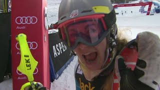 Resi Stiegler - Slalom #2 - Run 2 - 2015 Nature Valley Aspen Winternational