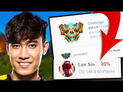 How to Play Lee Sin Like Levi - 80% Win Rate Challenger