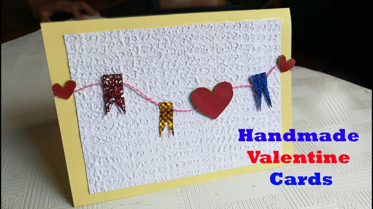 Diy Valentine Card Cute Handmade Valentine Card Tutorial