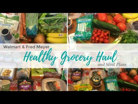Healthy Grocery Haul & Meal Plans | Weight Watchers Freestyle