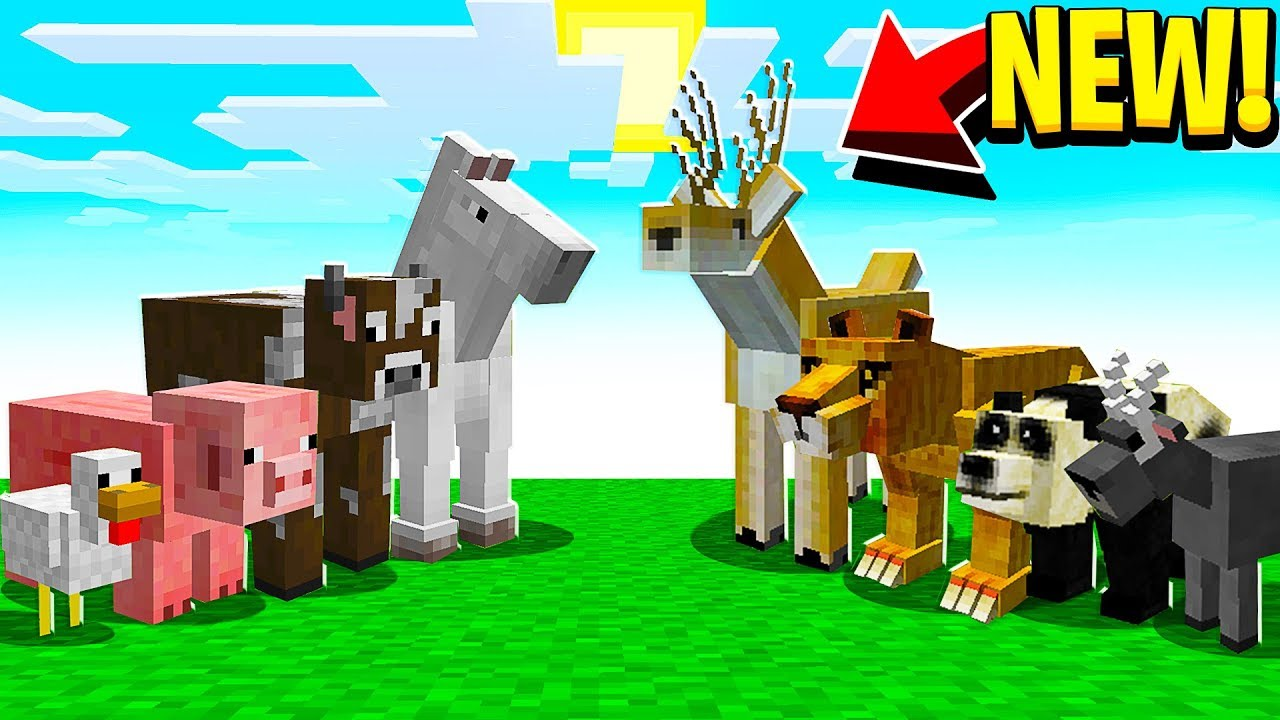 mod minecraft animals pe mods mcpack texture mobs addon skins pack packs