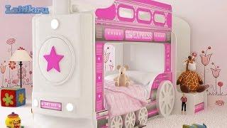 Кровать машина. Двухъярусная кровать