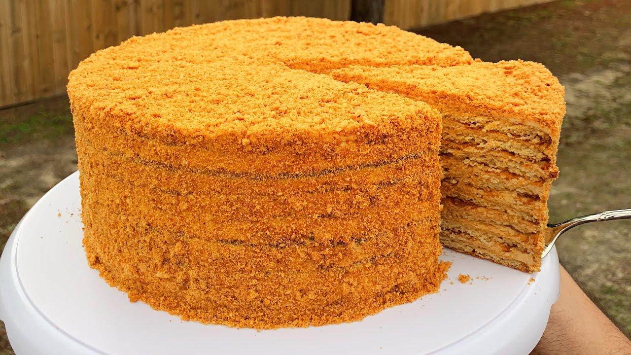 медовый торт со сгущенкой рецепт с фото пожелания спокойной ночи