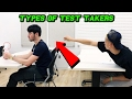 TYPES OF TEST TAKERS