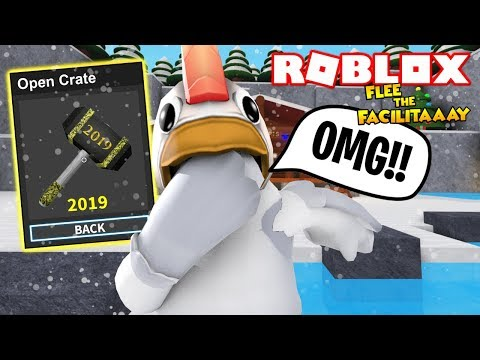 The New 2019 God Hammer In Flee The Facility Roblox Christmas