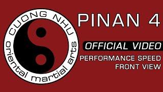 Cuong Nhu Pinan 4 - Official Kata - Performance Speed - Front View