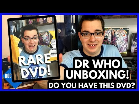 Doctor Who DVD Out of Print - Rare DVD Unboxing