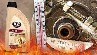 K2 Texar Ultra 0W20 Jak skutecznie olej chroni silnik? 100°C