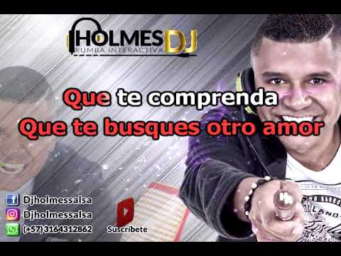 QUE GANAS DE NO VERTE MAS / LA INDIA / Video Liryc letra / Holmes DJ