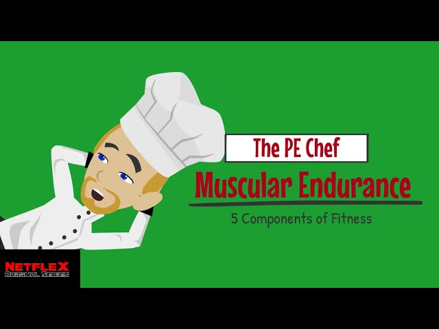PE Chef: Muscular Endurance (5 Components of Fitness) Explainer