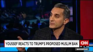 باسم يوسف: نظريات المؤامرة الوهمية منتشر في مصر وأمريكا (فيديو)