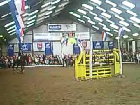 Horse jumping 2 meter (6.56feet)