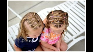 Simple Back to School Girl's Hairstyles