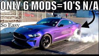 THESE 6 EASY MODS = 10'S N/A For Your 2018-19 MUSTANG GT!