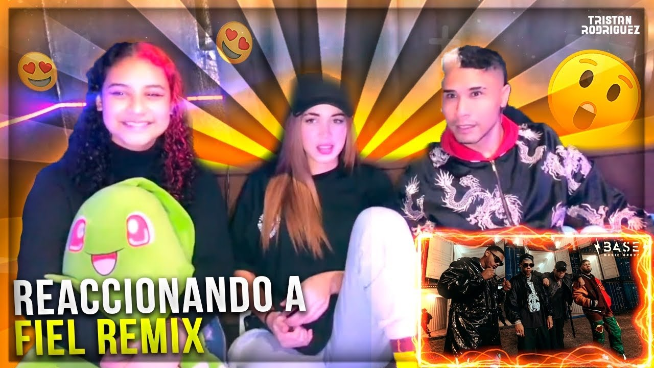 """Wisin, Jhay Cortez, Anuel - """"Fiel Remix"""" (Official Video) ft. Myke Towers ( Opinion / Reaccion )"""