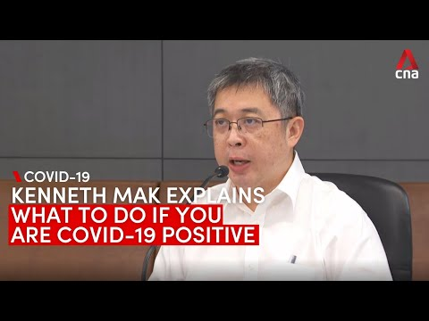 What to do if you test positive for COVID-19 in Singapore