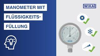 Manometer mit Flüssigkeitsfüllung | Vorteile & Einsatzbereiche