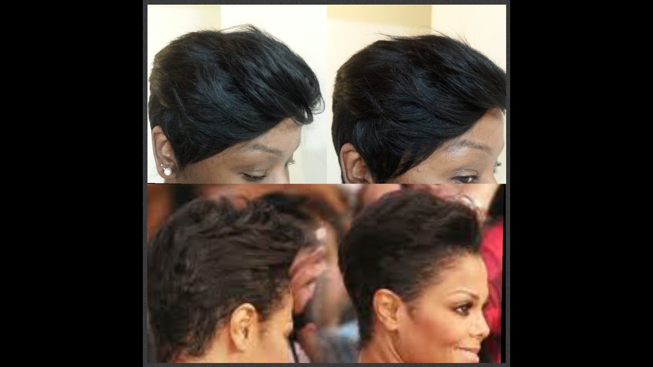 How To Janet Jackson Inspired Quick Weave 27 Pieces Youtube