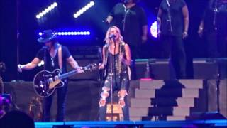 """Choctaw County Affair"" - Carrie Underwood w/ The McCrary Sisters - CMA Fest 2016 Nissan Stadium"