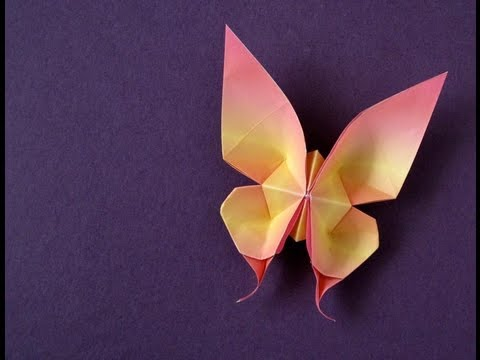 Thumbnail: Origami Swallowtail Butterfly (first version)