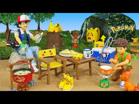Download Youtube: Pokemon Camping - Candy Toys (Re-Ment Miniatures)