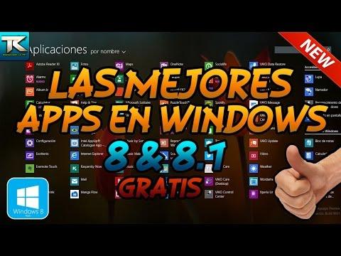 Las mejores Apps para Windows 8 y 8.1 | Review Completo | GRATIS | 2014 HD