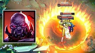 SION COMPLETELY BREAKING THE GAME! Smallest Circle Possible in Bardle Royale?