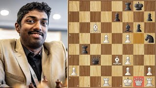 That's No Way To Treat Your Queen! || Praggnanandhaa vs Adhiban (2021)